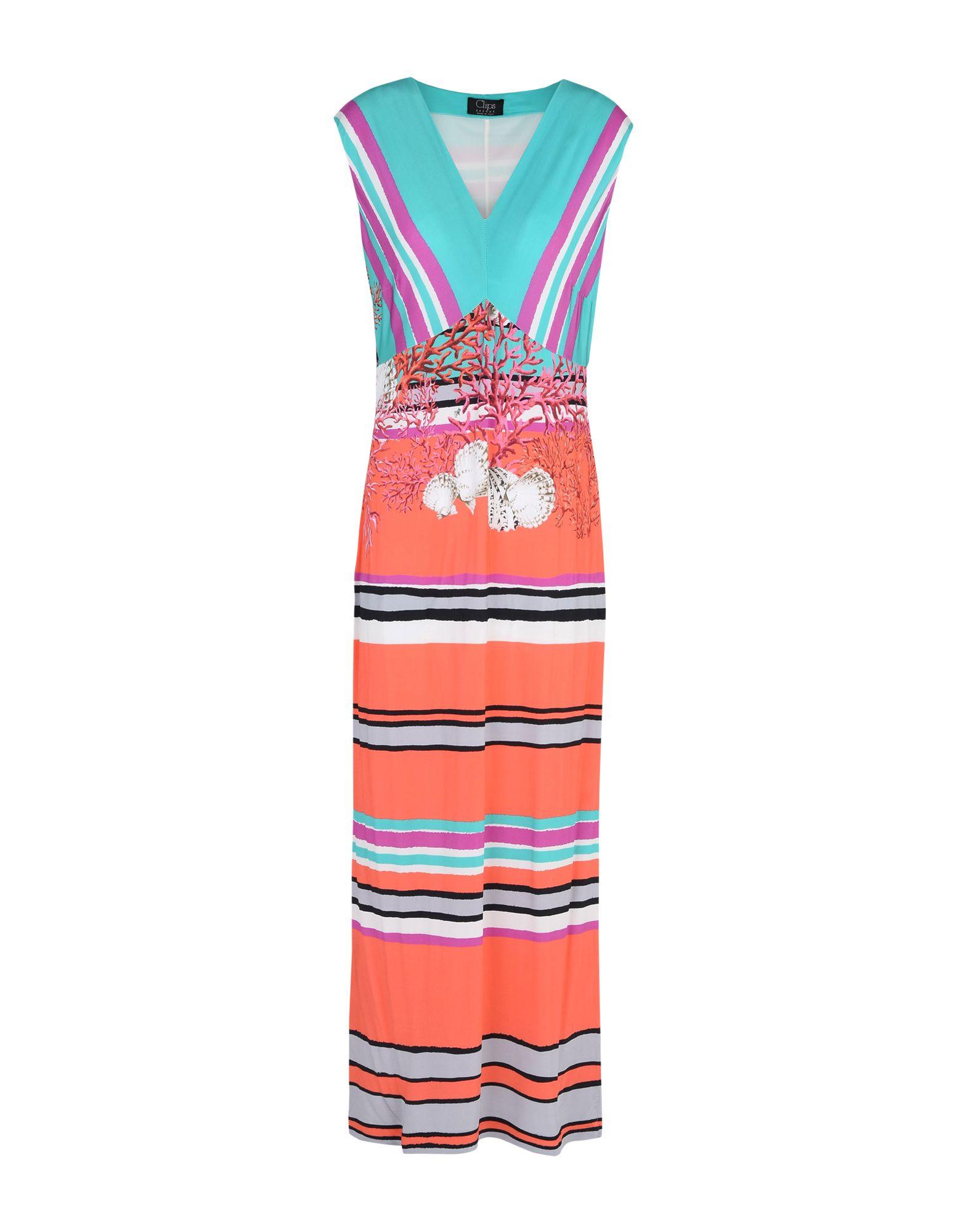 CLIPS Длинное платье gf ferre повседневные брюки