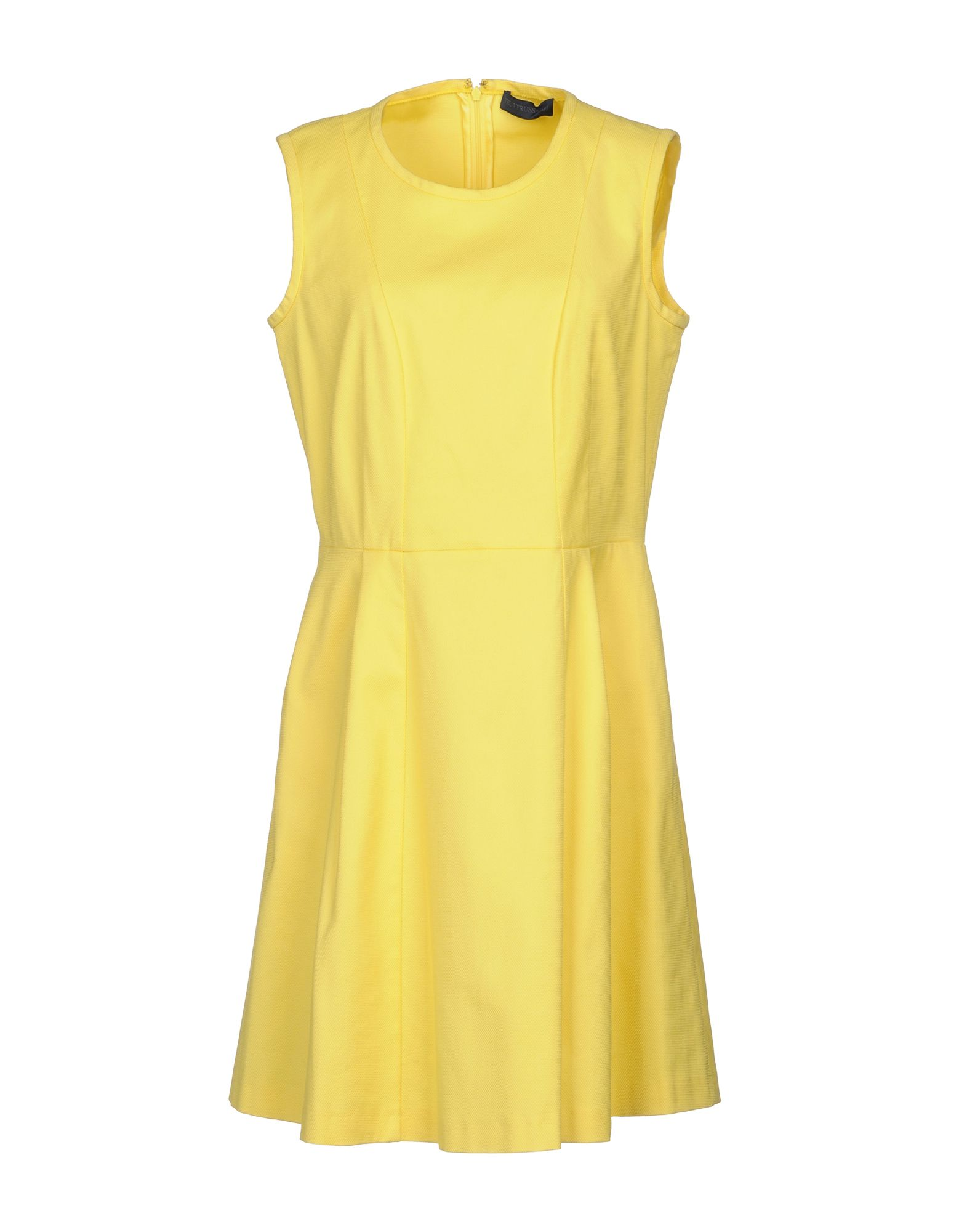 TRU TRUSSARDI Короткое платье повседневное платье без рукавов tru trussardi платья и сарафаны приталенные