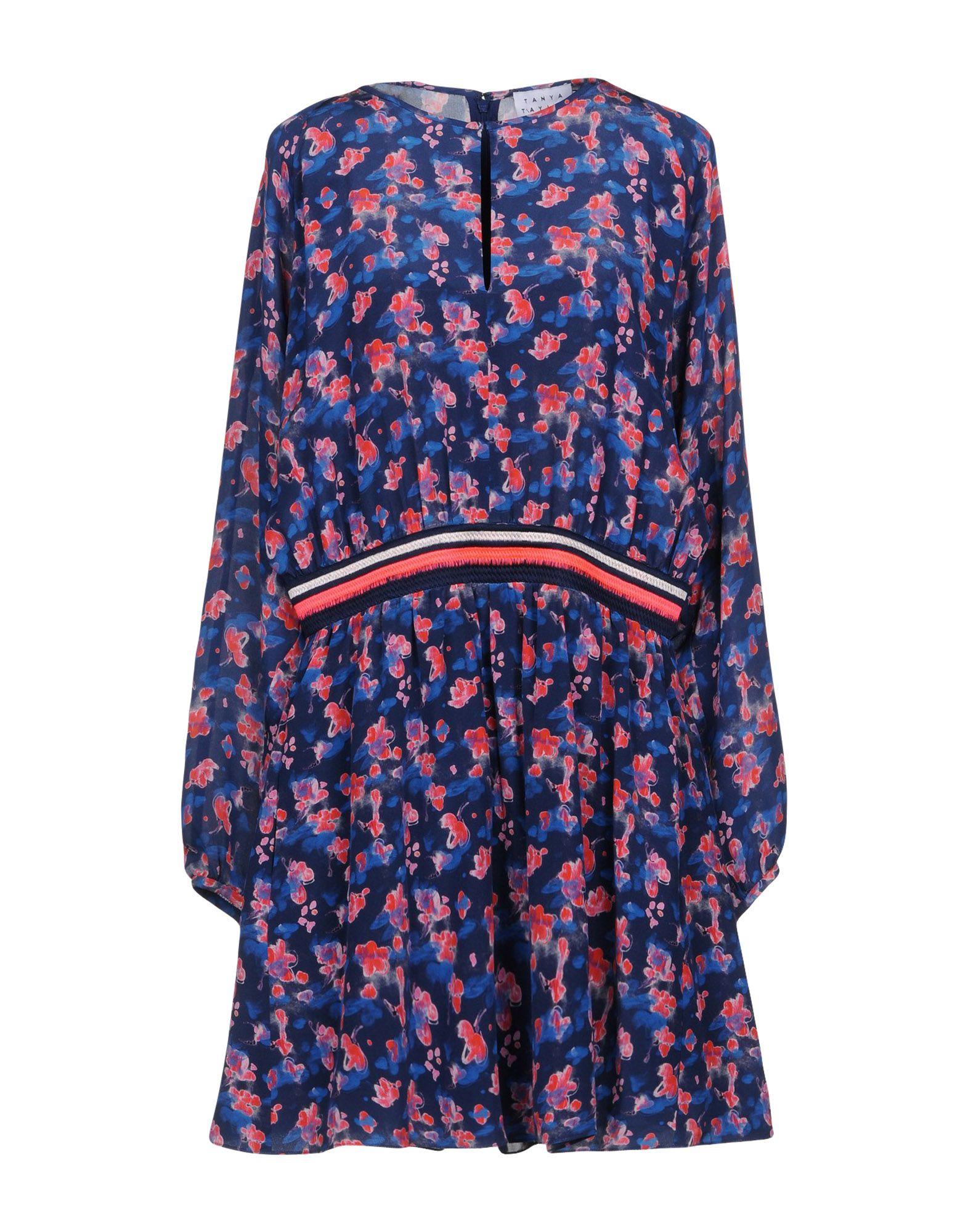 цены TANYA TAYLOR Короткое платье