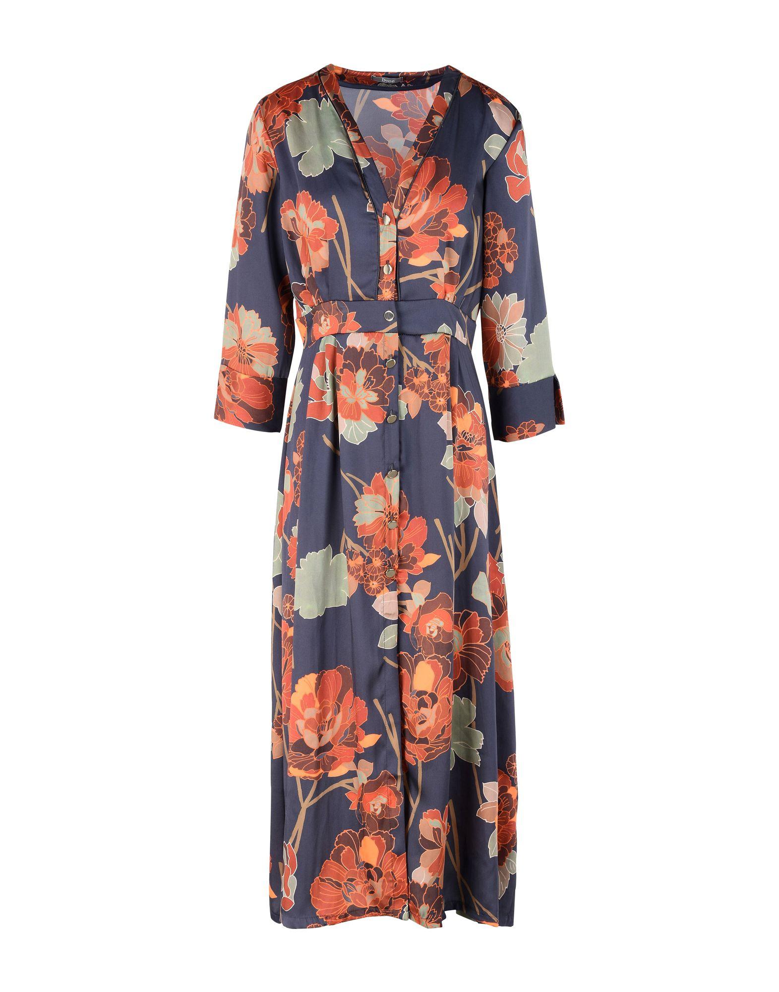 DIXIE Платье длиной 3/4 lisa corti платье длиной 3 4