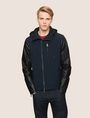ARMANI EXCHANGE CONTRAST SLEEVE HOODED JACKET Jacket Man f