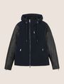 ARMANI EXCHANGE CONTRAST SLEEVE HOODED JACKET Jacket Man r