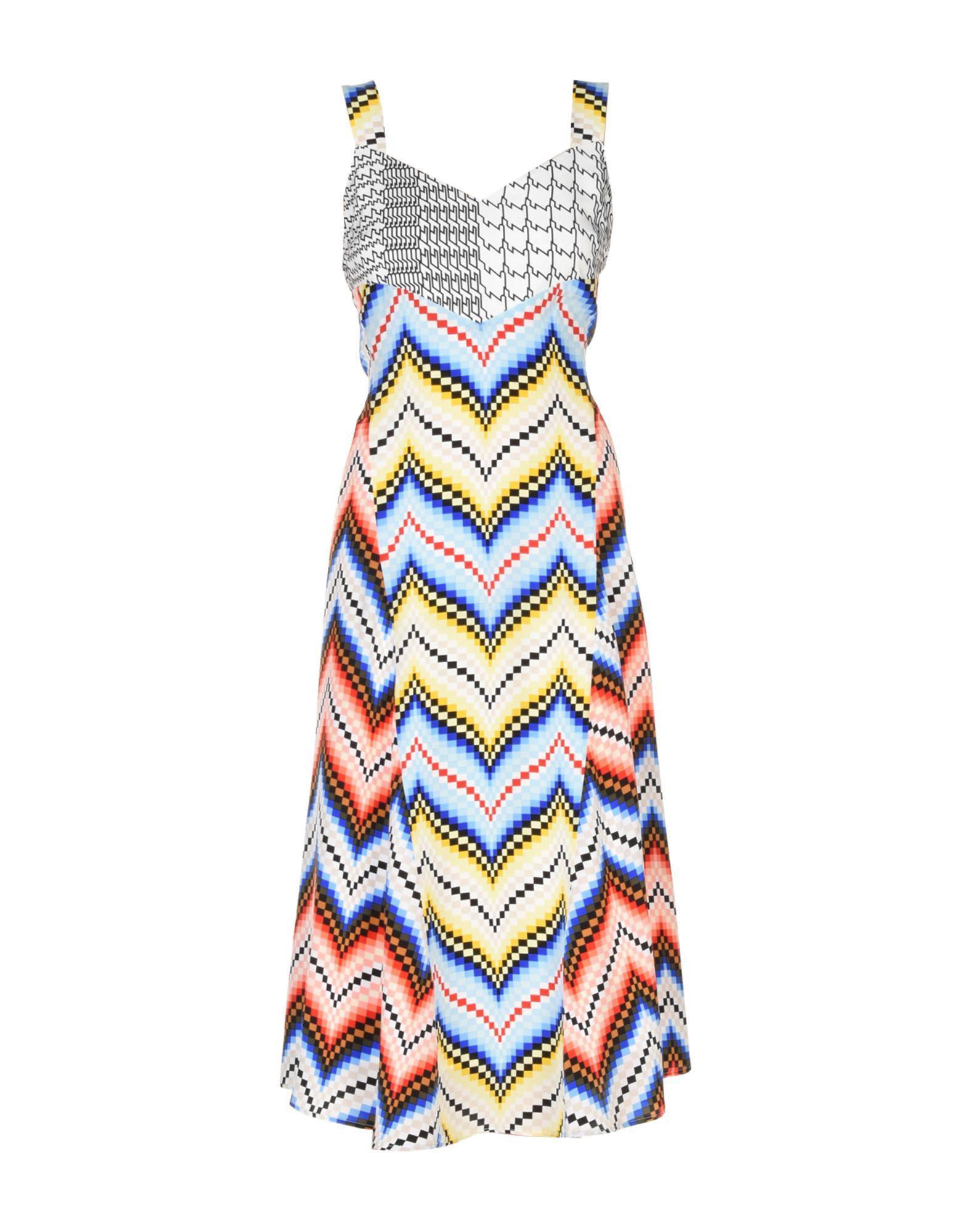 KENZO Платье длиной 3/4 lisa corti платье длиной 3 4
