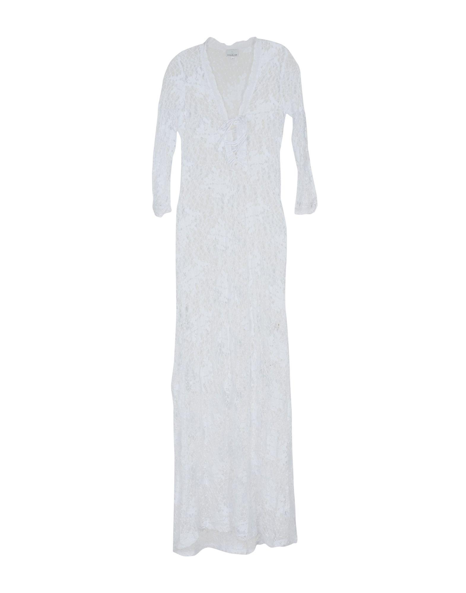 MIGUELINA Длинное платье miguelina кардиган