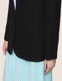 ARMANI EXCHANGE LONGLINE SHAWL LAPEL BLAZER Blazer Woman b