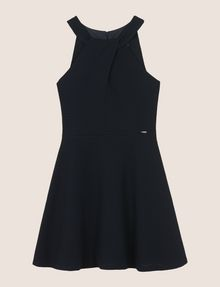 ARMANI EXCHANGE WRAP JACQUARD FIT-AND-FLARE Mini dress [*** pickupInStoreShipping_info ***] r