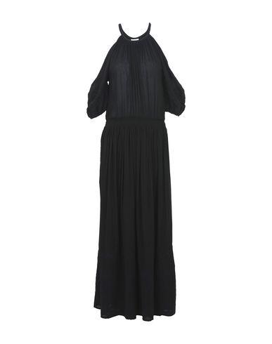 TALITHA レディース ロングワンピース&ドレス ブラック XS コットン 100%