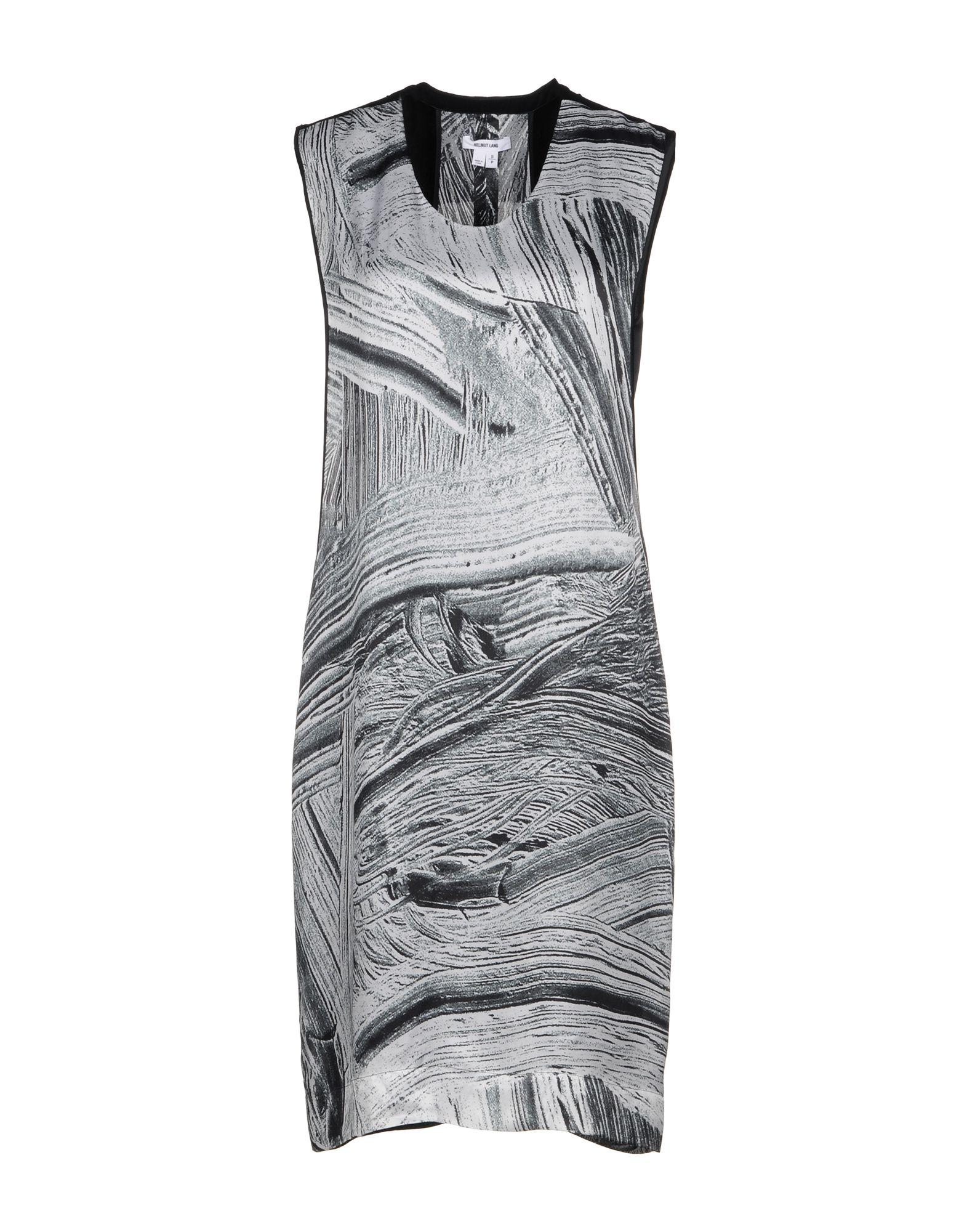 HELMUT LANG Платье до колена комплектующие для раковин david lang 2012