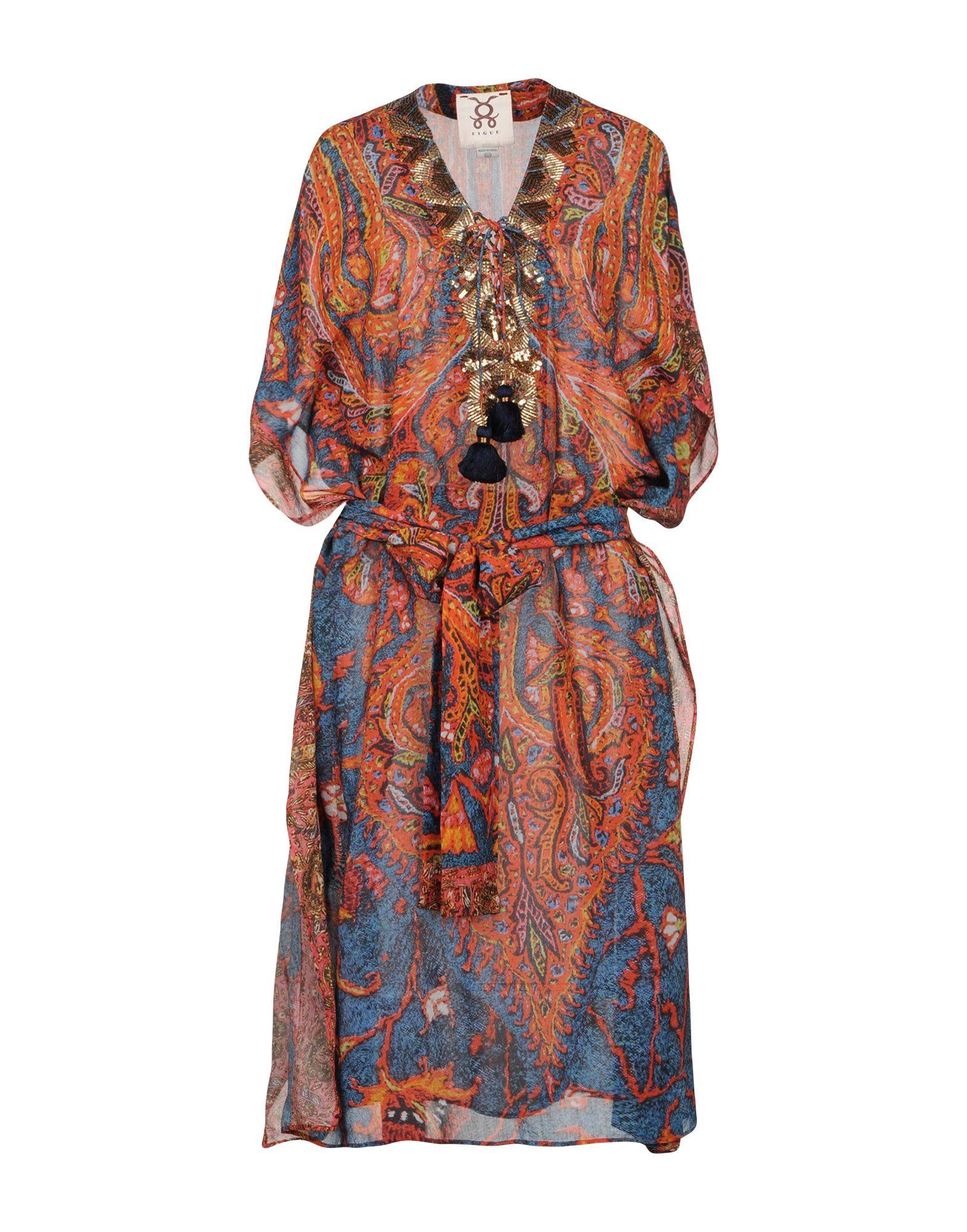 FIGUE Платье длиной 3/4 lisa corti платье длиной 3 4
