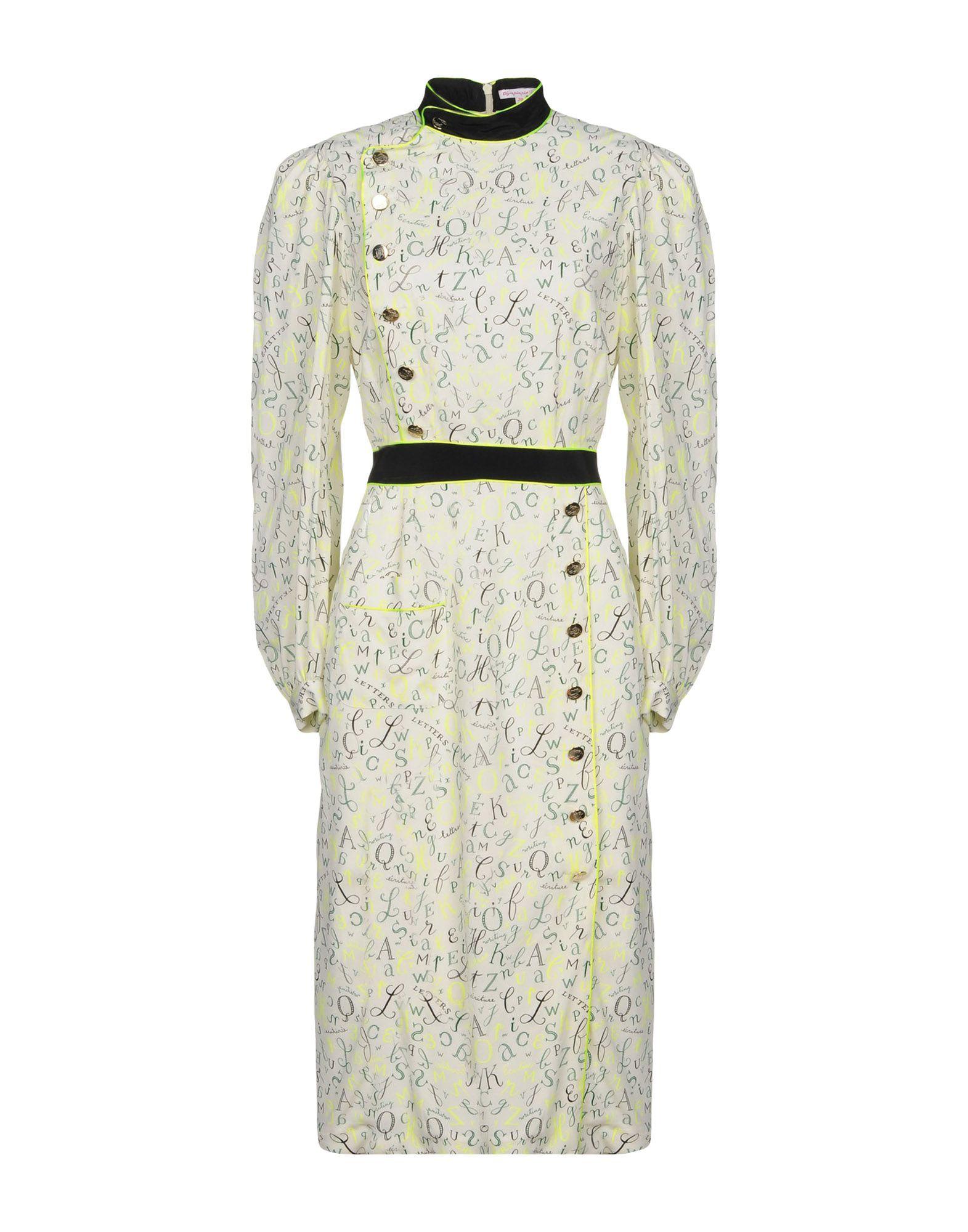 OLYMPIA LE-TAN Платье длиной 3/4 olympia le tan x disney сумка на руку