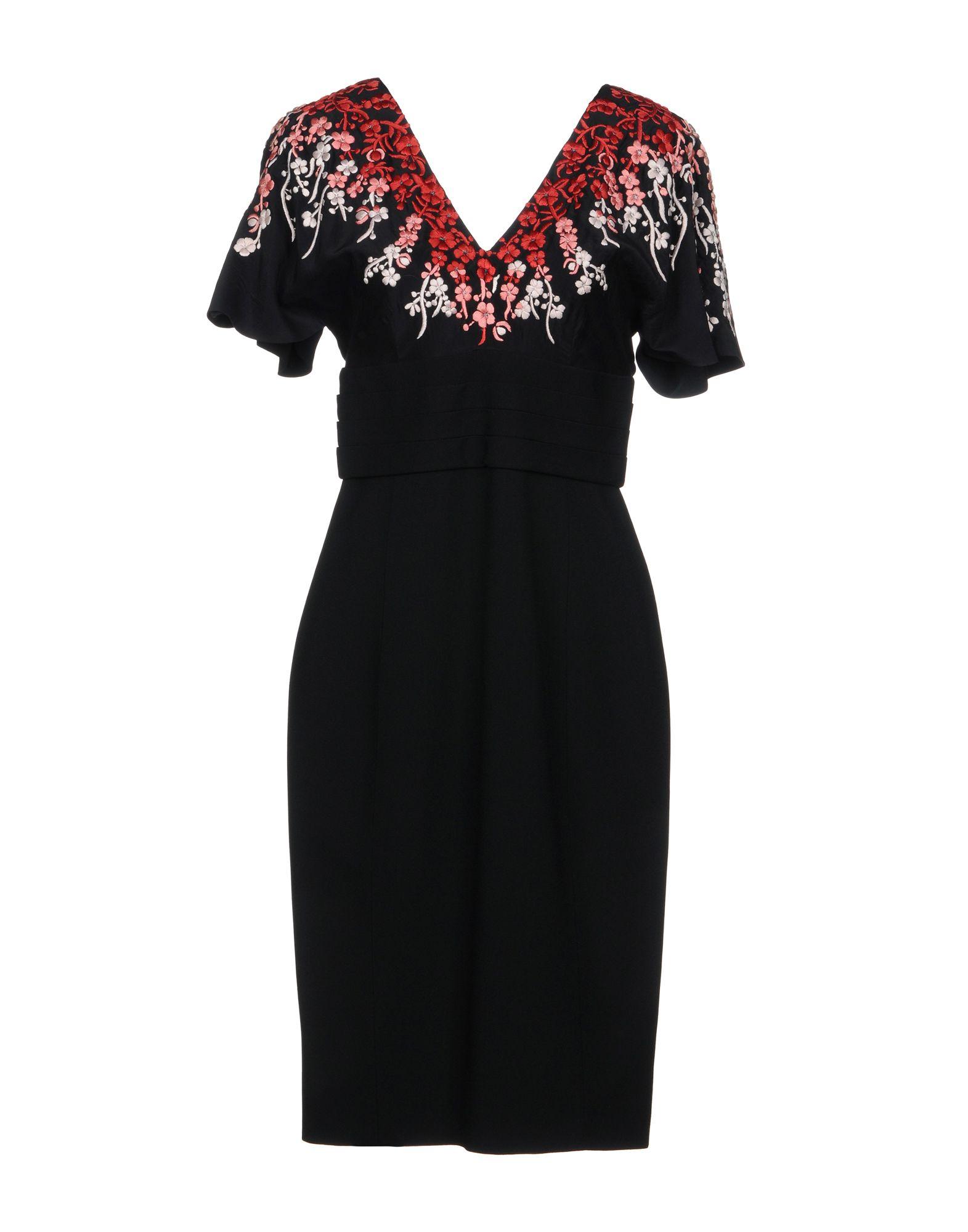 L'WREN SCOTT Knee-Length Dress in Black