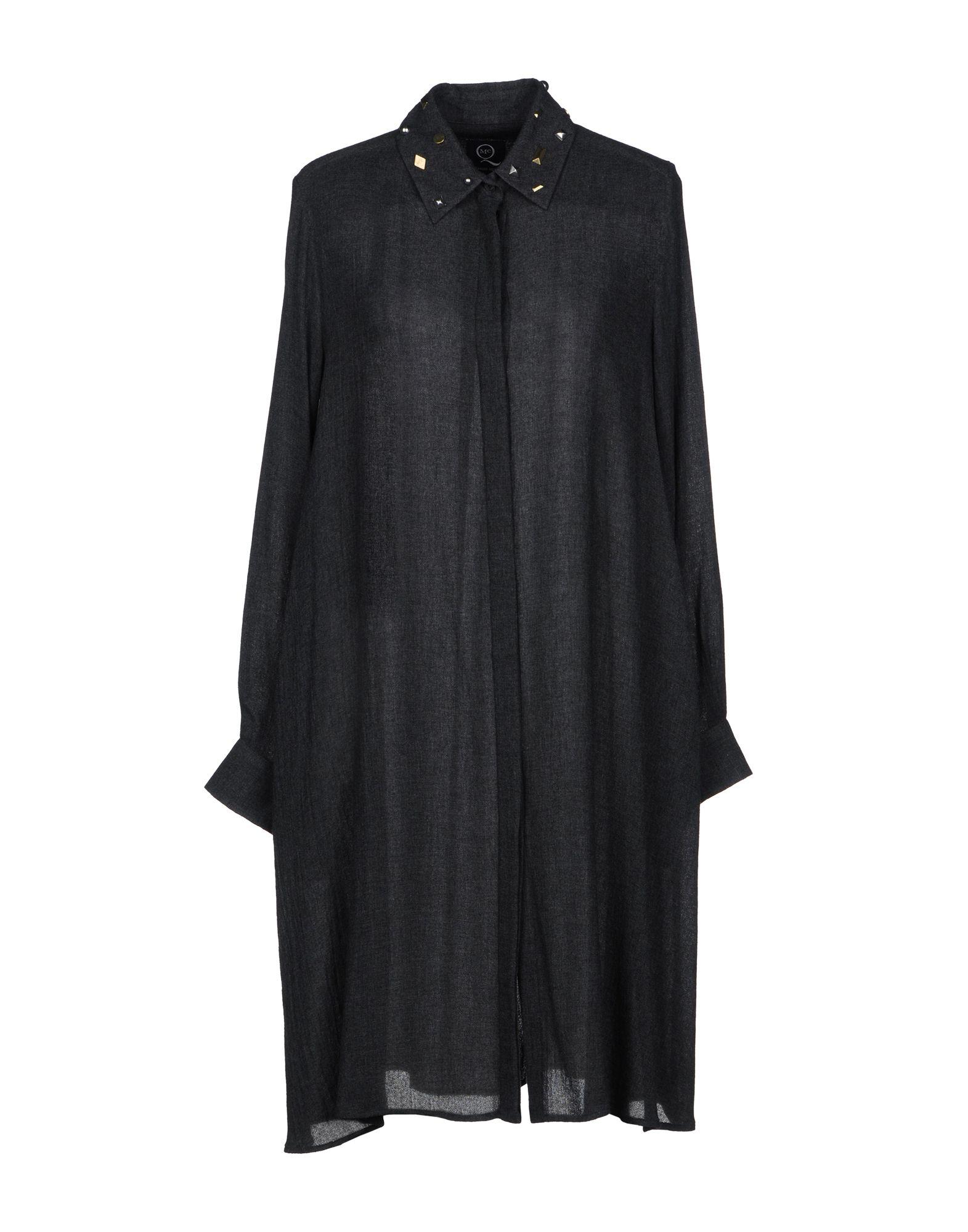 McQ Alexander McQueen Короткое платье mcq alexander mcqueen рубашка с длинными рукавами