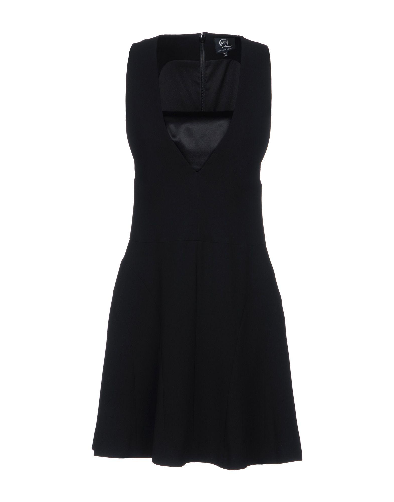 McQ Alexander McQueen Короткое платье mcq alexander mcqueen мини юбка
