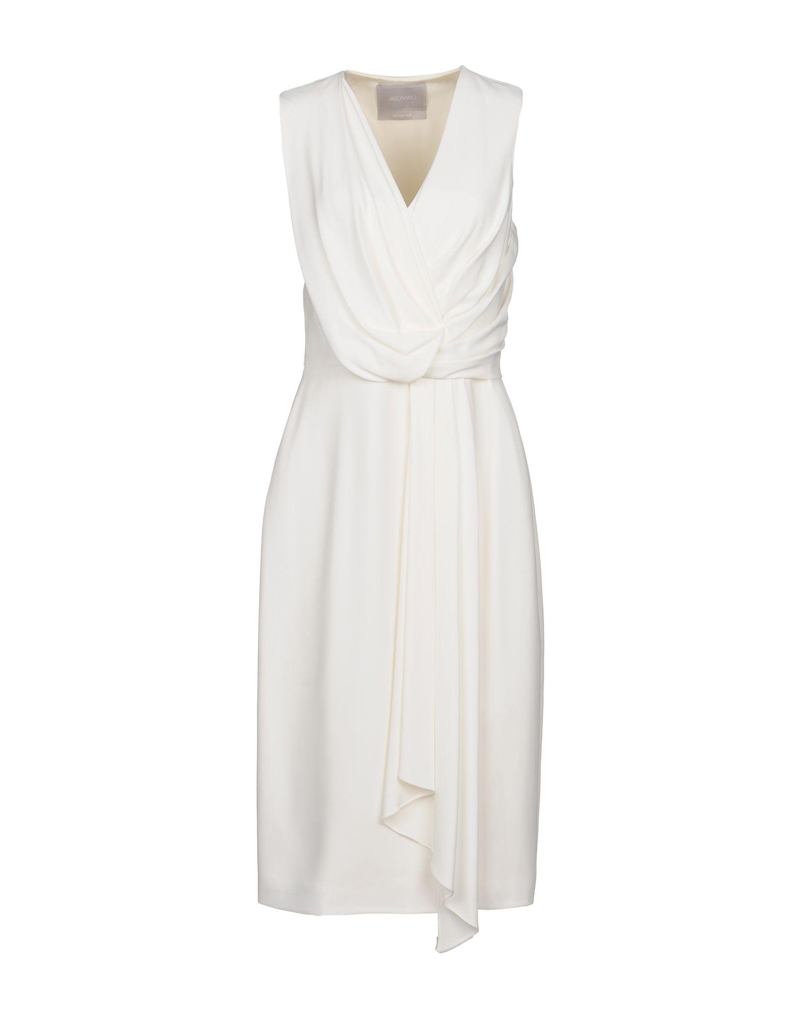 JASON WU Платье длиной 3/4 jason wu платье до колена