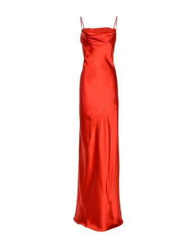 Фото - Женское длинное платье AMANDA WAKELEY красного цвета