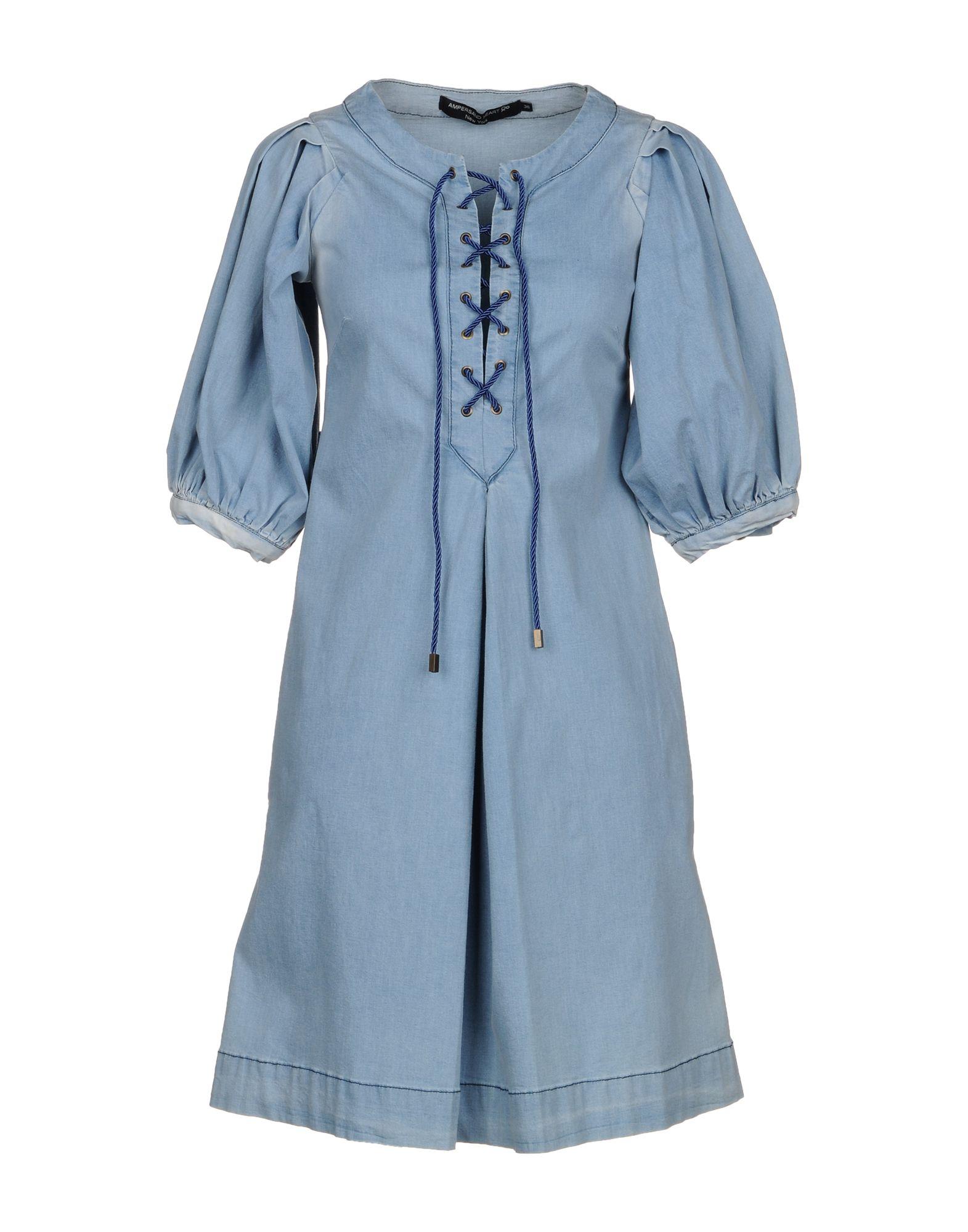 AMPERSAND HEART New York Короткое платье