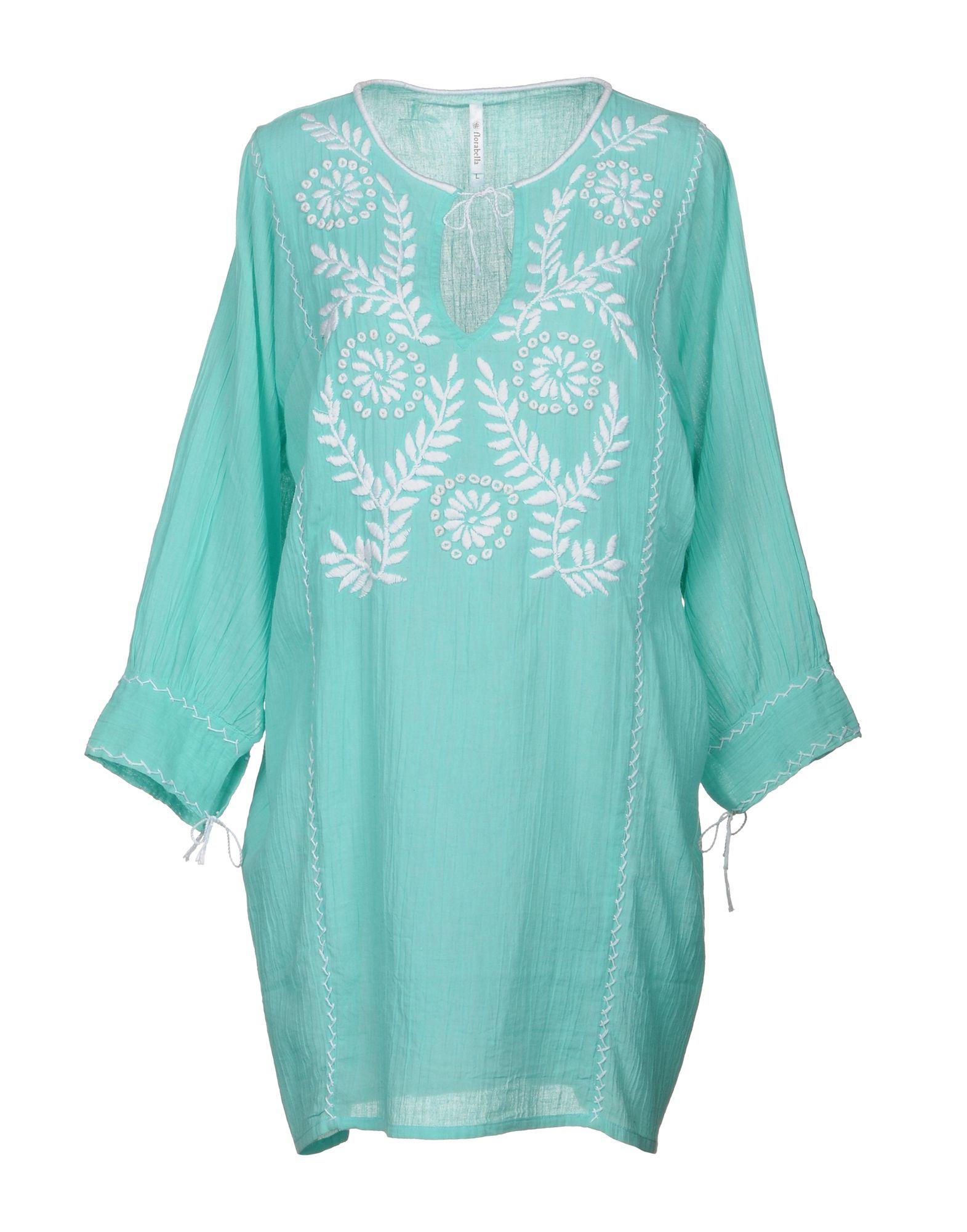 FLORABELLA Short Dress in Light Green