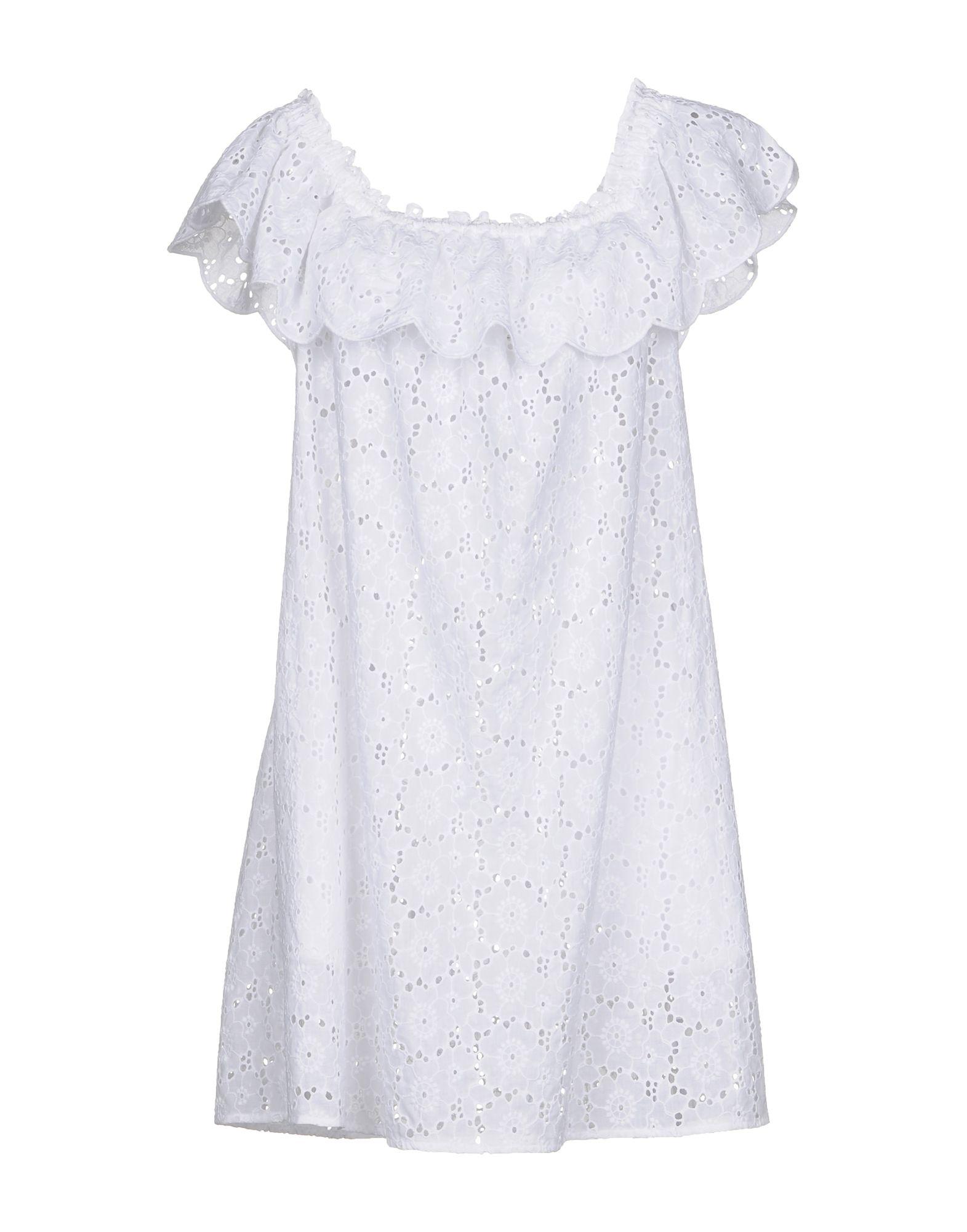 TORY BURCH Короткое платье tory burch платье со сборками