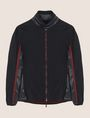 ARMANI EXCHANGE FAUX-LEATHER STAND COLLAR JACKET Jacket Man r