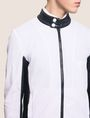 ARMANI EXCHANGE FAUX-LEATHER STAND COLLAR JACKET Jacket Man b
