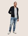 ARMANI EXCHANGE TEXTURED JACQUARD BOMBER JACKET Jacket Man d