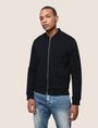 ARMANI EXCHANGE TEXTURED JACQUARD BOMBER JACKET Jacket Man f