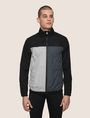 ARMANI EXCHANGE HOODED COLORBLOCK WINDBREAKER Jacket Man f