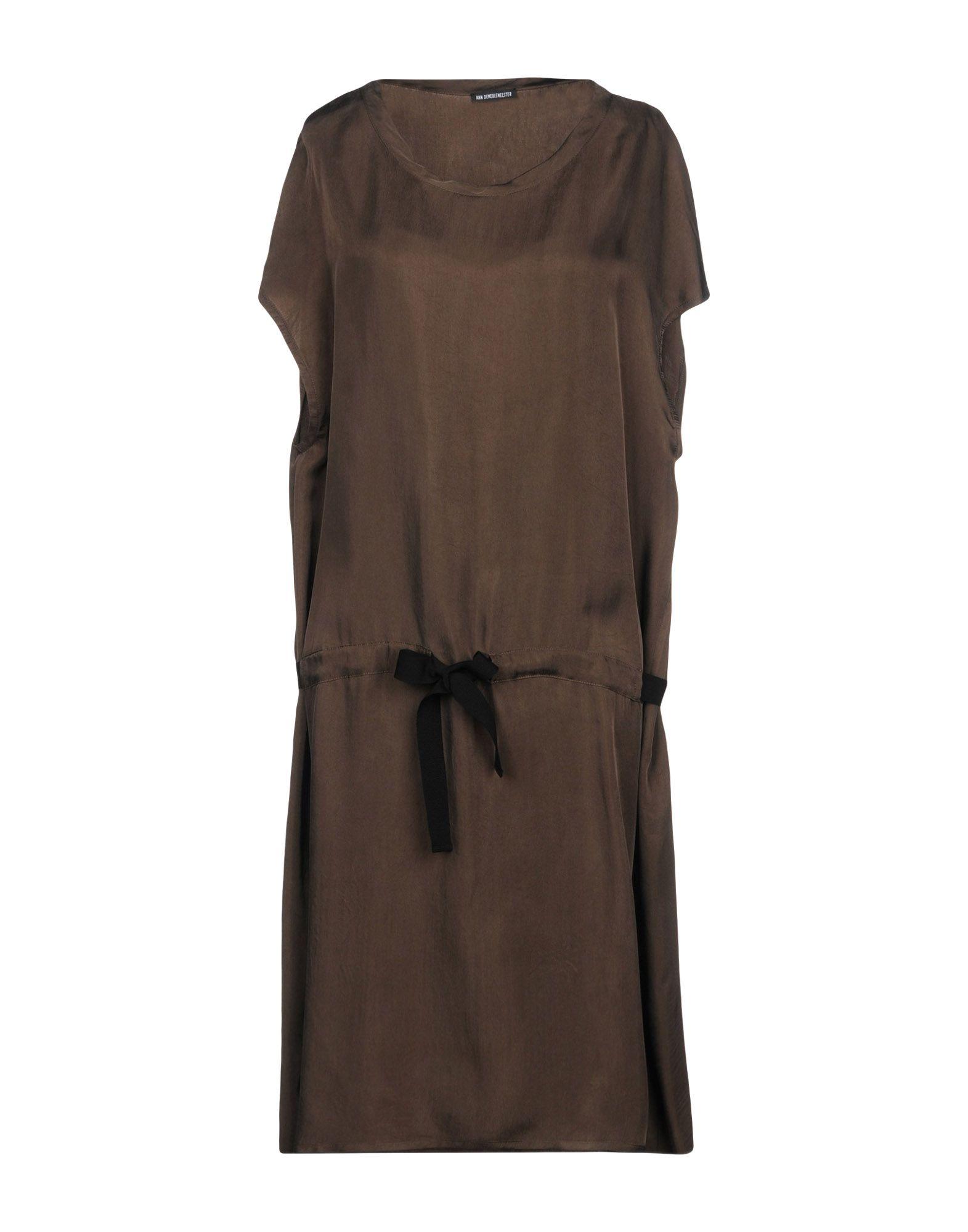 ANN DEMEULEMEESTER Платье до колена