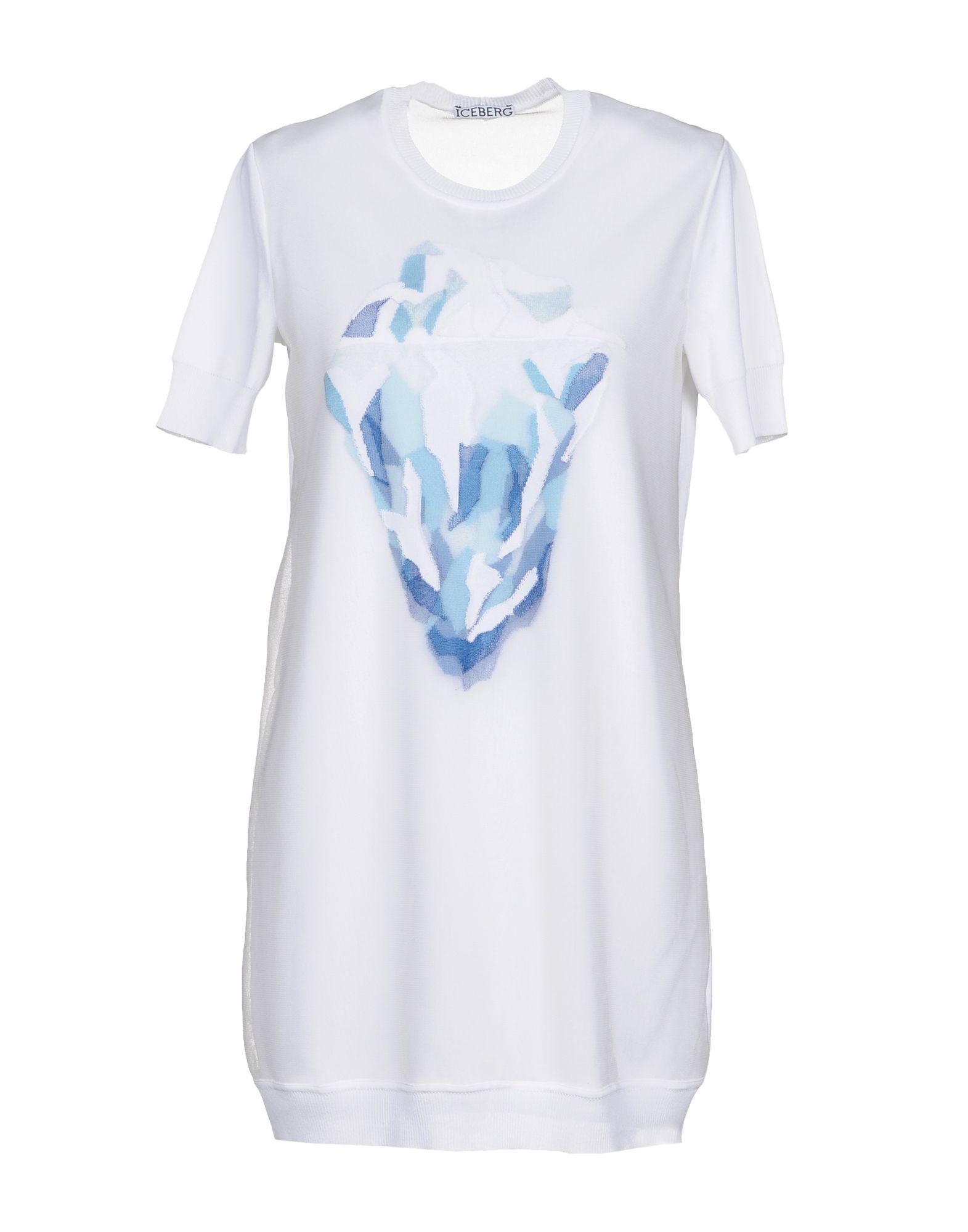 ICE ICEBERG Короткое платье платье туника ice iceberg платье туника