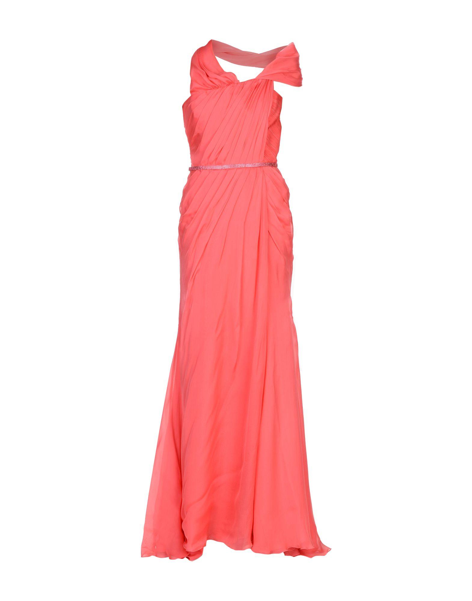 VERSACE Длинное платье парфюмерная вода versace versace объем 50 мл вес 100 00