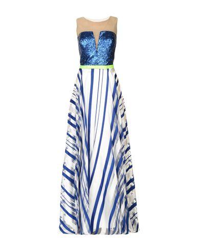 Купить Женское длинное платье ELITE синего цвета