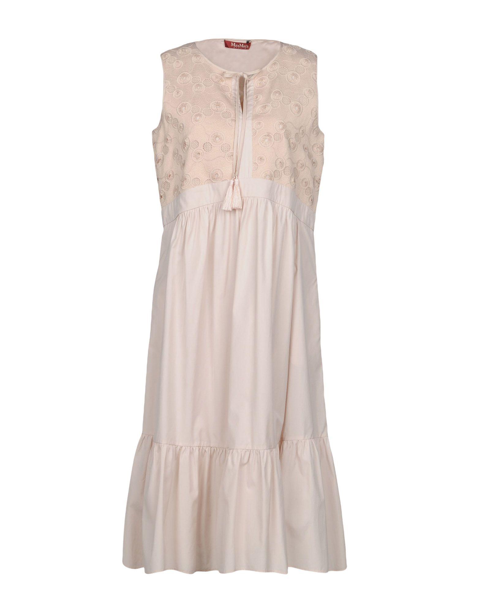 8f2c83ad434 Max Mara Knee-Length Dress In Beige