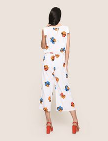 ARMANI EXCHANGE ABSTRACT FLORAL PLEATED JUMPSUIT Jumpsuits [*** pickupInStoreShipping_info ***] e