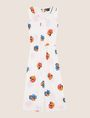 ARMANI EXCHANGE ABSTRACT FLORAL PLEATED JUMPSUIT Jumpsuits [*** pickupInStoreShipping_info ***] r
