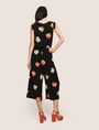 ARMANI EXCHANGE ABSTRACT FLORAL PLEATED JUMPSUIT Jumpsuits Woman e