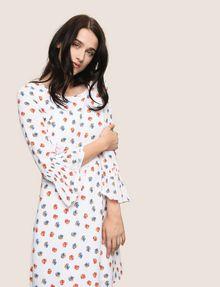 ARMANI EXCHANGE FLORAL BELL-SLEEVE DRESS Mini dress Woman a