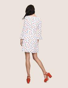 ARMANI EXCHANGE FLORAL BELL-SLEEVE DRESS Mini dress Woman e