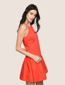 ARMANI EXCHANGE CROSS-BACK DROP-WAIST DRESS Mini dress Woman a