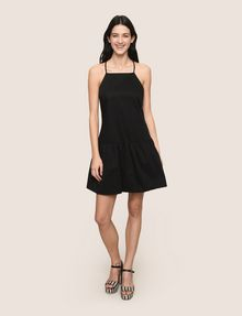 ARMANI EXCHANGE CROSS-BACK DROP-WAIST DRESS Mini dress Woman d