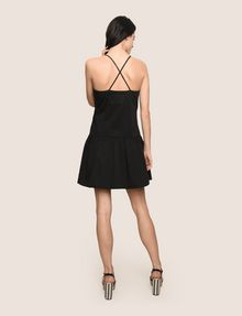 ARMANI EXCHANGE CROSS-BACK DROP-WAIST DRESS Mini dress Woman e