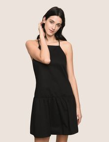 ARMANI EXCHANGE CROSS-BACK DROP-WAIST DRESS Mini dress Woman f