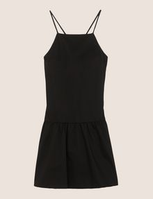 ARMANI EXCHANGE CROSS-BACK DROP-WAIST DRESS Mini dress Woman r