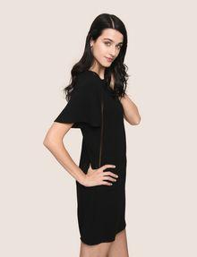 ARMANI EXCHANGE FLUTTER-SLEEVE EYELET TEE DRESS Mini dress Woman a