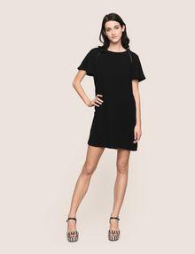 ARMANI EXCHANGE FLUTTER-SLEEVE EYELET TEE DRESS Mini dress Woman d