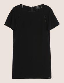 ARMANI EXCHANGE FLUTTER-SLEEVE EYELET TEE DRESS Mini dress Woman r