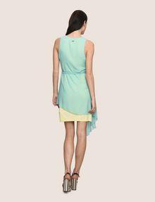 ARMANI EXCHANGE ASYMMETRICAL OVERLAY TANK DRESS Mini dress Woman e