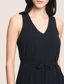 ARMANI EXCHANGE ASYMMETRICAL OVERLAY TANK DRESS Mini dress Woman b