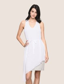 ARMANI EXCHANGE ASYMMETRICAL OVERLAY TANK DRESS Mini dress Woman f