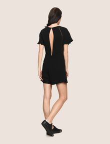 ARMANI EXCHANGE OPEN-BACK EYELET ROMPER Jumpsuits [*** pickupInStoreShipping_info ***] e