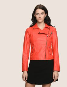 ARMANI EXCHANGE FAUX-LEATHER BIKER JACKET PU [*** pickupInStoreShipping_info ***] f